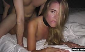 Petite College Babe gets Destroyed In Her Dorm - BLEACHED RAW - Ep VIII
