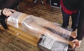 Sophia Smith mummified and tickled