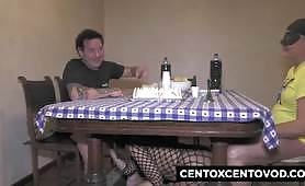 Ragusa lady buggered by Alex Magni and Morena Capoccia buggered a bisexual