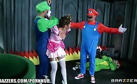 Mario and luigi parody double stuff